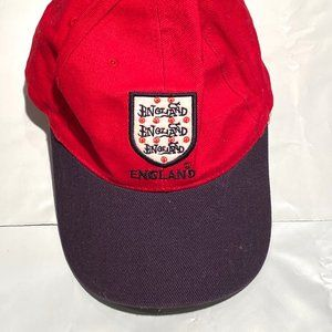 Navy and Red New England Cap